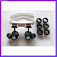 Бинокулярные очки с LED подсветкой TH-9202 (10x/15x/20x/25x), фото 1