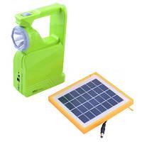 Фонарь/светильник светодиодный Yajia 2837RT, солнечная батарея в комплекте, с пластиковым корпусом