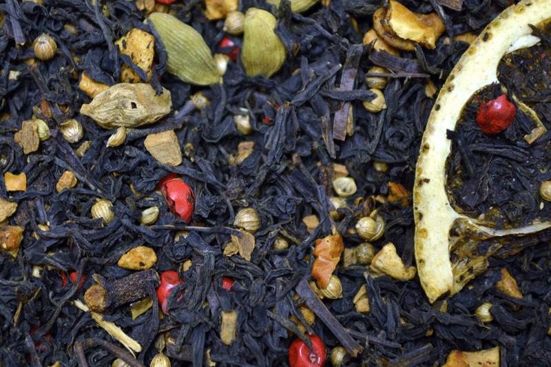 Чай чёрный Апельсиновые дольки / Tea Orange slices (250 г)