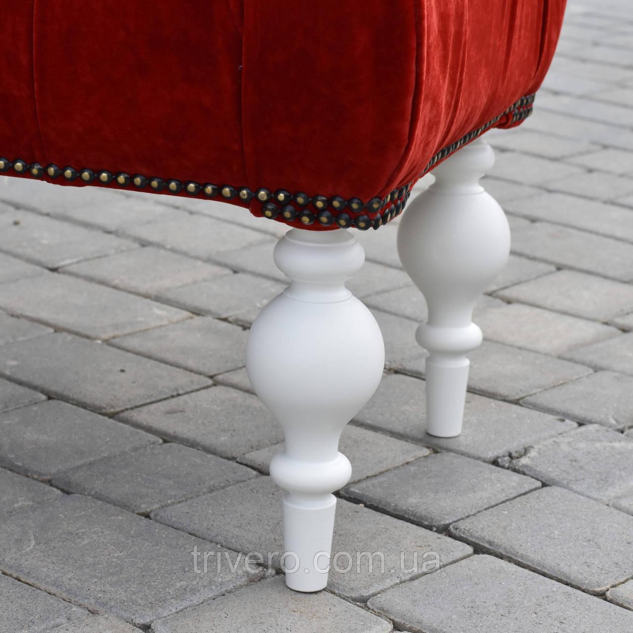 Меблеві ніжки і опори різьблені для дивана, для пуфа, для крісла H. 230 D. 80 / Код: Ніжка-17