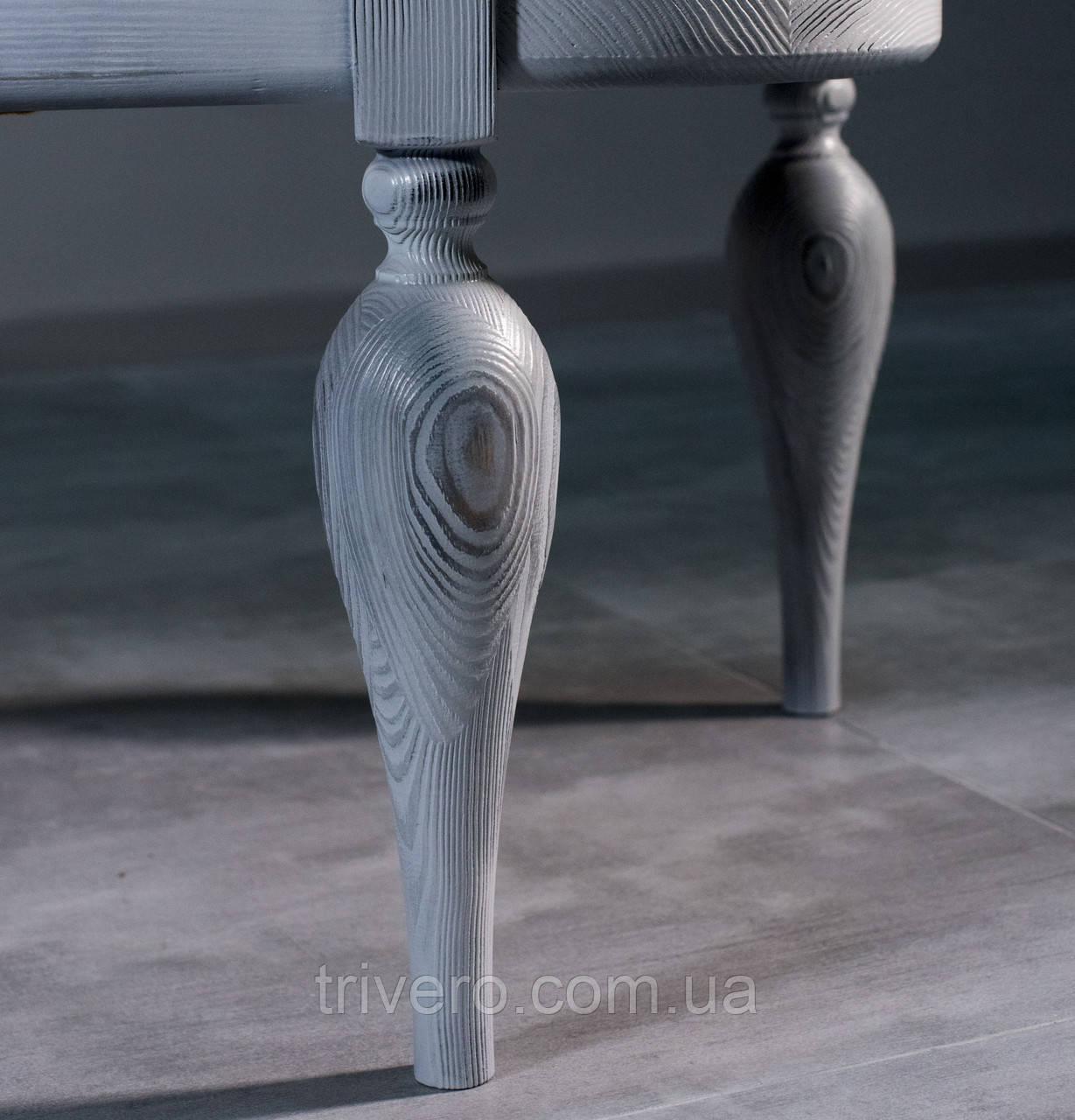 NM-21. Мебельные ножки и опоры для банкетки из дерева