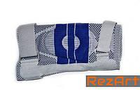 Суппорт колена, усиленный ремнями с дополнительной гелевой фиксацией (р-р XL)