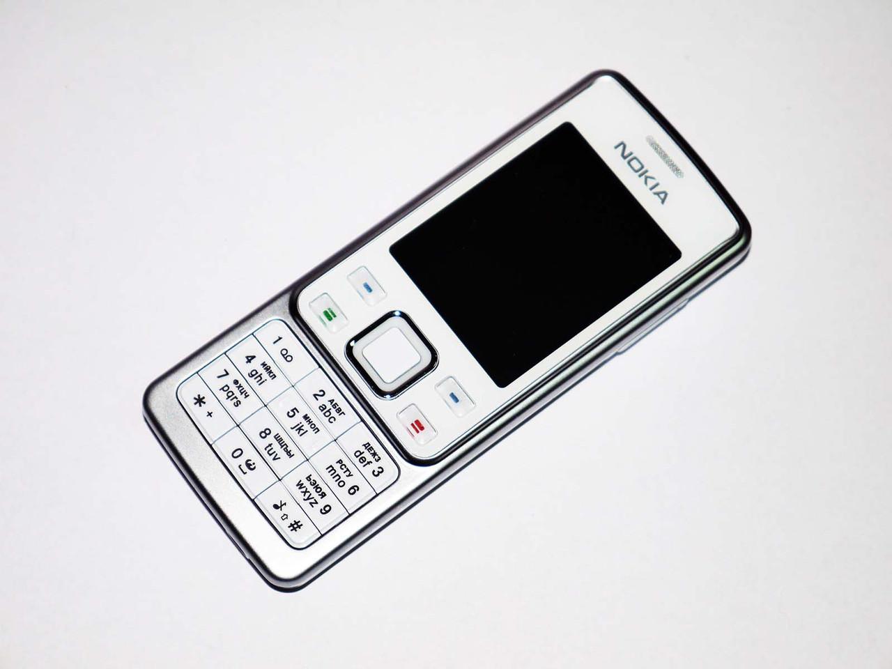 "Телефон Nokia 6300 Белый - 2Sim - 2"" -FM - BT - Camera - металлический корпус"