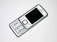 """Телефон Nokia 6300 Белый - 2Sim - 2"""" -FM - BT - Camera - металлический корпус , фото 1"""
