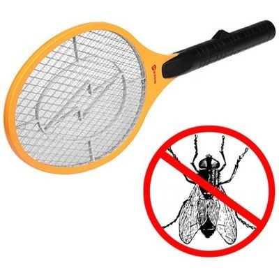 Мухобойка аккумуляторная Foetsie, уничтожитель мух и летающих насекомых