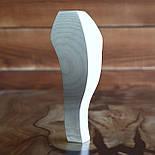 Меблеві ніжки і опори з дерева кабріоль з боковим кріпленням 200 H. D. 70, фото 2