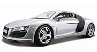 Автомодель Maisto 1:18 Audi R8 Сріблястий (36143)