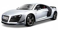 Автомодель Maisto 1:18 Audi R8 GT Серебристый (36190 silver)