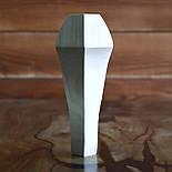 Меблеві ніжки і опори з дерева кабріоль з боковим кріпленням 200 H. D. 70, фото 6