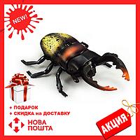 Радиоуправляемый жук Олень 9996-E   игрушка на радиоуправлении   насекомые для детей