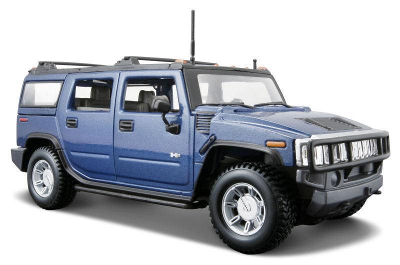 Автомодель Maisto 1:27 Hummer H2 SUV 2003 Синий (31231 blue)