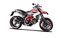 Модель мотоцикла Maisto 1:12 Ducati 2013 Hypermotard SP White (31101-14)
