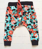 Легкие летние яркие штанишки на малышку. Размер: 80 см., фото 1
