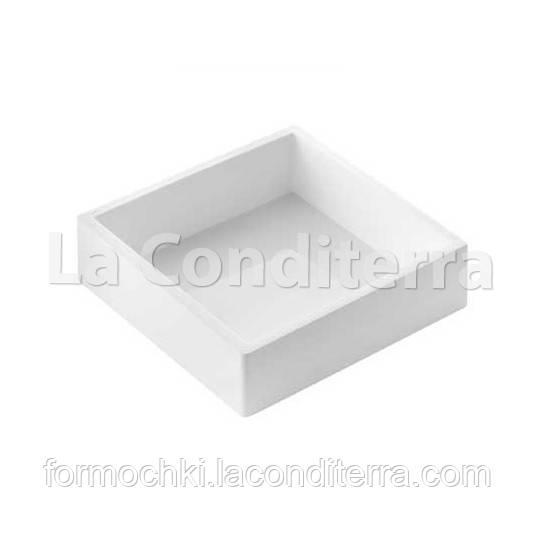 Силиконовые формы для десертов SILIKOMART SQUARE SPECIAL TOR180 (180x180 мм, объем=1558 мл)