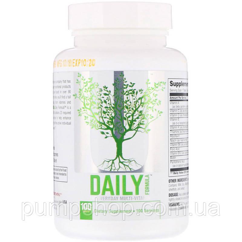 Вітаміни Universal Nutrition Daily Formula 100 таб. (США)