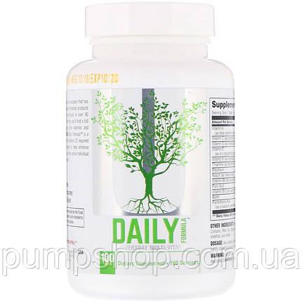Вітаміни Universal Nutrition Daily Formula 100 таб. (США), фото 2