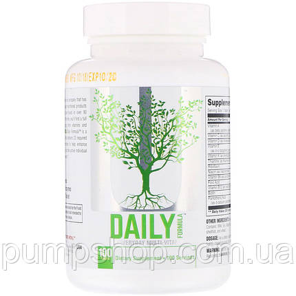 Витамины Universal Nutrition Daily Formula 100 таб. (США), фото 2