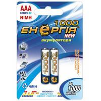 Аккумулятор Энергия AAA 1000mAh R03 U-2