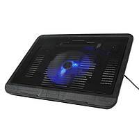 Охлаждающая подставка для ноутбука (кулер) Jedel N191 с вентилятором