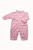 Флисовый комбинезон-поддева под верхнуюю зимнюю одежду для малыша
