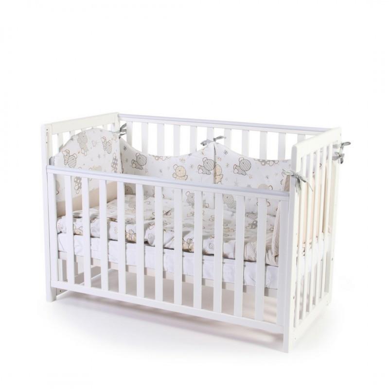 Детская кроватка Верес Соня ЛД 13 Белый