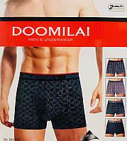 Трусы мужские боксёры хлопок DOOMILAI размер XL-4XL(48-54)  01160