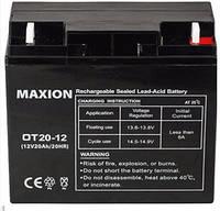 Промышленный Аккумулятор UPS MAXION 12-20 (12V,20Ah)