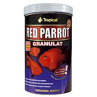 Сухой корм для аквариумных рыб Tropical в гранулах «Red Parrot Granulat» 1 л (для попугаев)