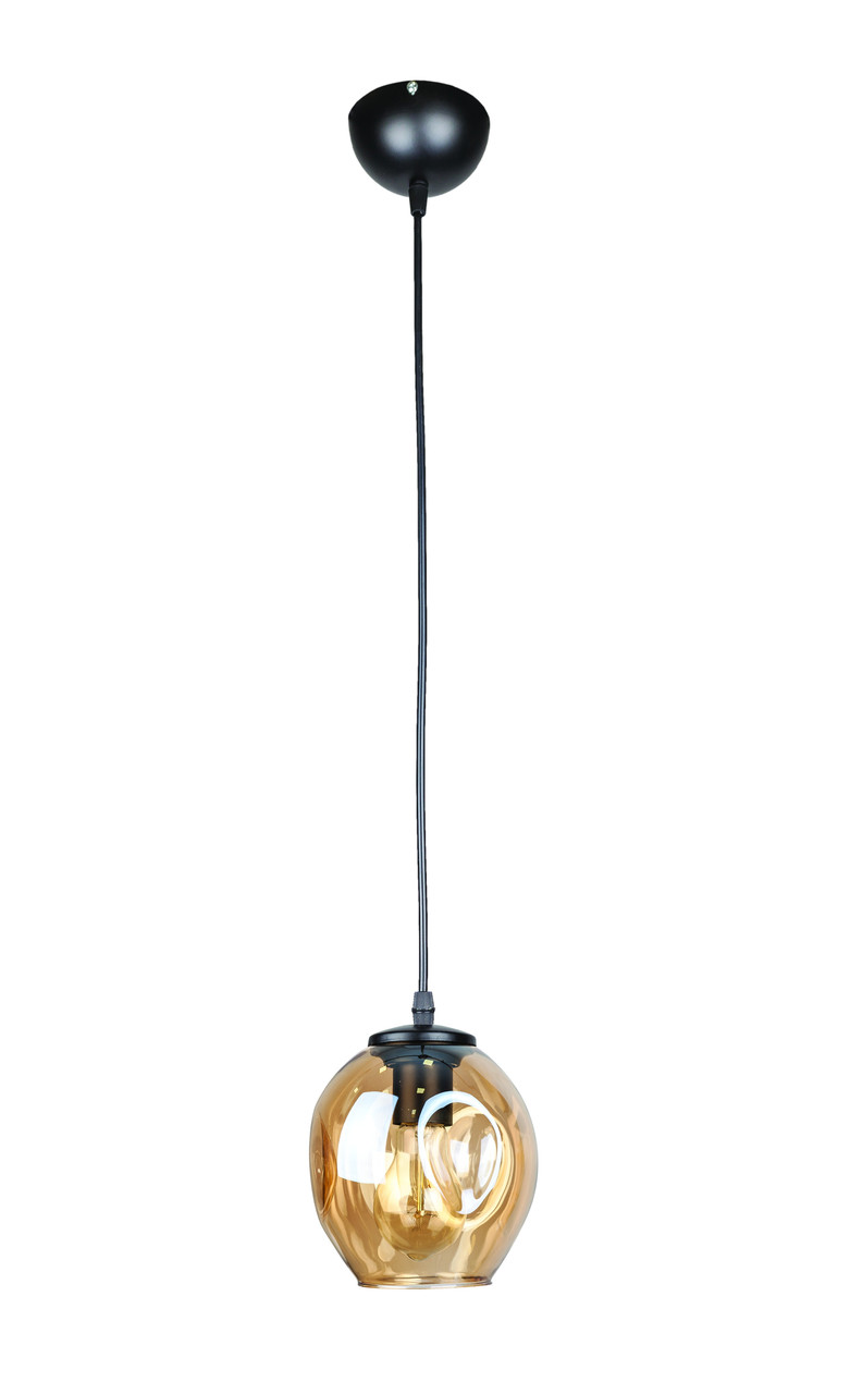 Люстра підвісна Levistella 756PR0231F-1 BK+BR