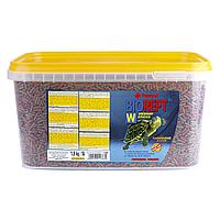 Сухой корм для водоплавающих черепах Tropical в палочках «Biorept W» 5 л