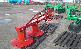 Косарка роторна 1,35 Wirax Польща на мінітрактор трактор Т-25 МТЗ ЮМЗ, фото 2