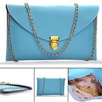 Модная женская ретро винтажная сумка клатч конверт стильная гаманець