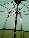 Зонт-палатка Sams Fish диаметр 2.5 метра (окно ПВХ), фото 4