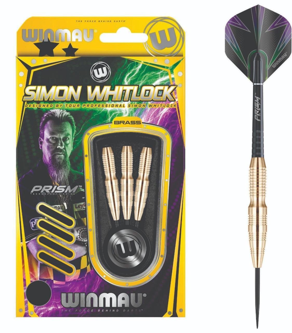 Дротики steel Simon Whitlock Winmau Англия 22 грамма