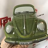 Копилка для мелочи в форме Volkswagen Beetle Moneybox, Green 111087709, фото 2
