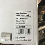 Копилка для мелочи в форме Volkswagen Beetle Moneybox, Green 111087709, фото 4