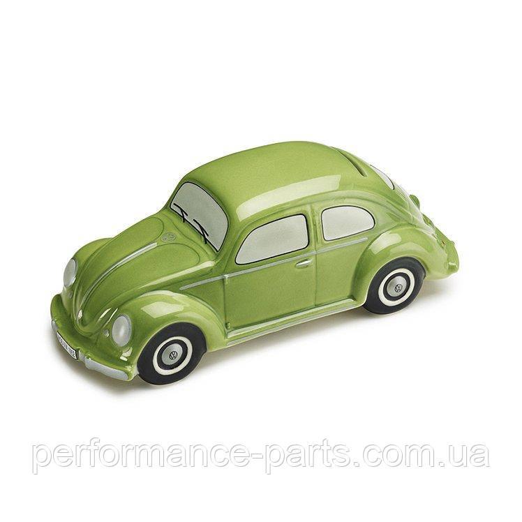 Копилка для мелочи в форме Volkswagen Beetle Moneybox, Green 111087709