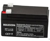 Промышленный Аккумулятор UPS MAXION 12- 1.3 (12V,1.3Ah)