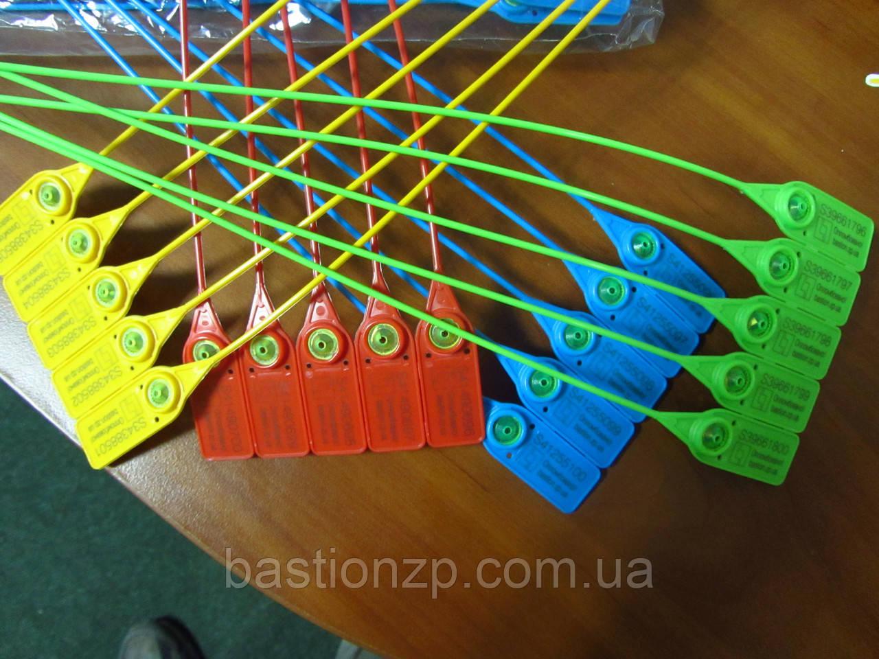 Номерная пластиковая пломба Стрела для транспорта  от производителя