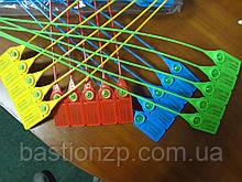 Номерная пластиковая пломба Стрела желтая от производителя