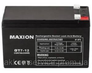 Промисловий Акумулятор UPS MAXION 12 - 7 (12V,7Ah)