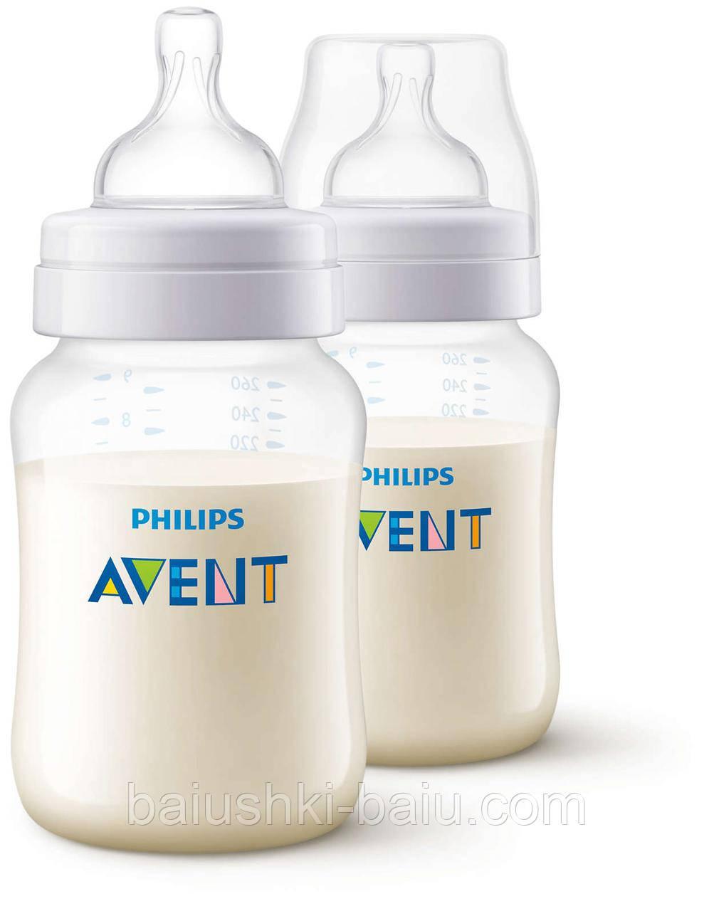 Бутылочка для кормления Philips AVENT Classic+ 2 x 260 мл
