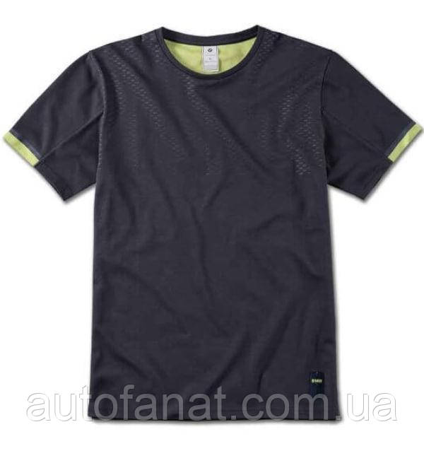 Оригинальная мужская футболка BMW Active T-Shirt, Men, Blue Nights / Wild Lime (80142460978)