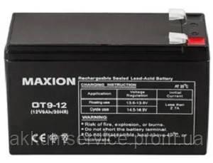 Промышленный Аккумулятор UPS MAXION 12- 9 (12V,9Ah)