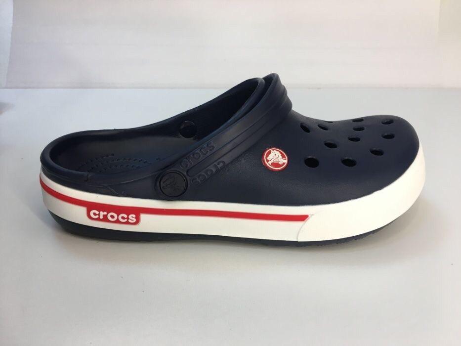 b13a40d66 Кроксы мужские темно-синие летние легкие шлепки Crocs Crocband - Доберман  шоп - уличный шмот
