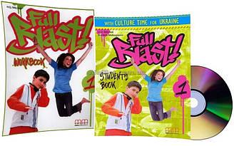 Английский язык / Full Blast / Student's+Workbook+CD. Учебник+Тетрадь (комплект), 1 / MM Publications