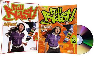Английский язык / Full Blast / Student's+Workbook+CD. Учебник+Тетрадь (комплект), 2 / MM Publications