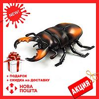 Радиоуправляемый жук Олень 9996-F   игрушка на радиоуправлении   насекомые для детей