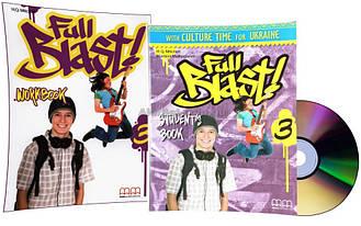 Английский язык / Full Blast / Student's+Workbook+CD. Учебник+Тетрадь (комплект), 3 / MM Publications