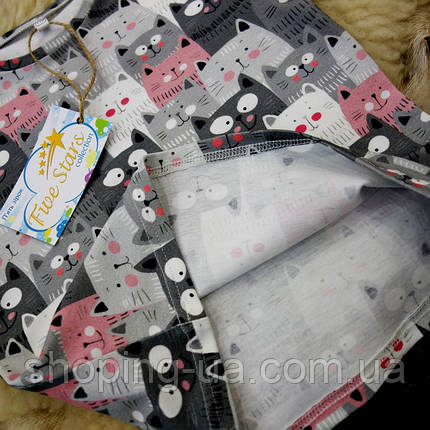 Детская футболка котики Five Stars KD0236-128p, фото 2